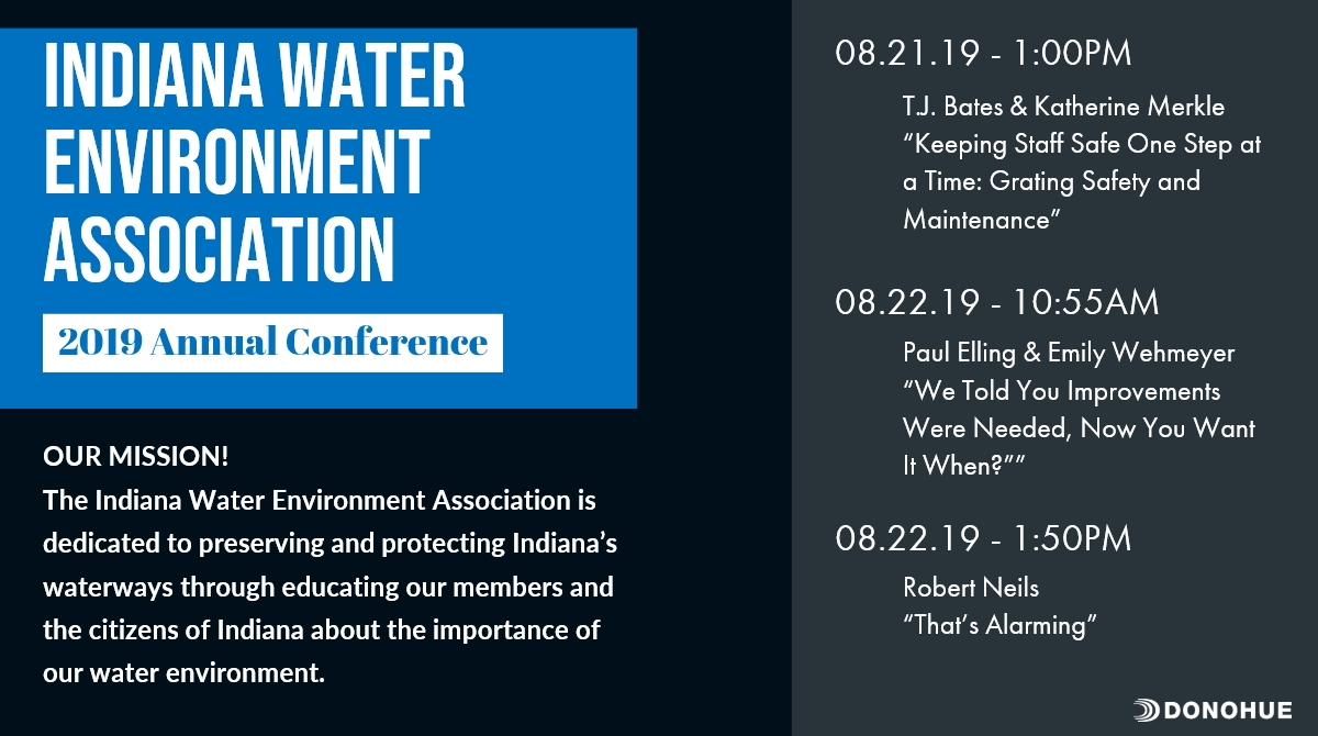 Donohue Active in Indiana WEA Annual Conference Thumbnail