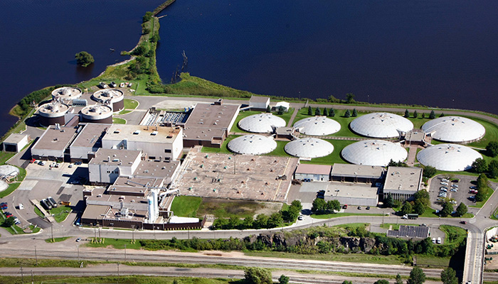 Plant Profile: Western Lake Superior Sanitary District WWTF Header Image