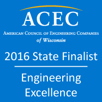 Stevens Point Project Receives ACEC Wisconsin Engineering Excellence Award Thumbnail
