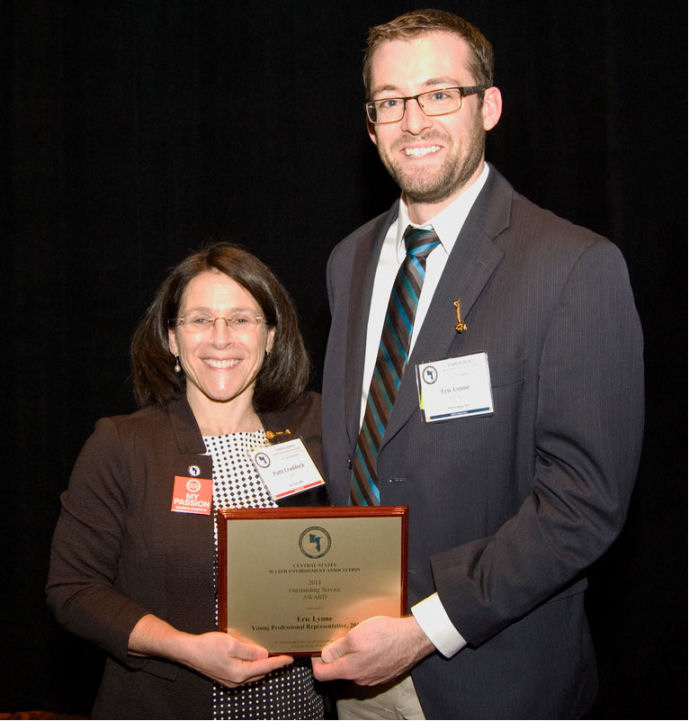 Eric Lynne, PE, Honored with Four Awards at CSWEA Conference Thumbnail